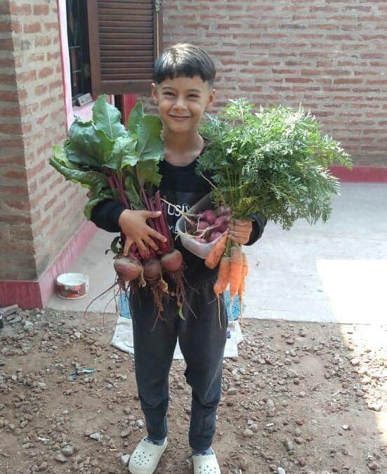 La escuela N° 367 de Chaco nos cuenta sobre sus Huertas En Casa