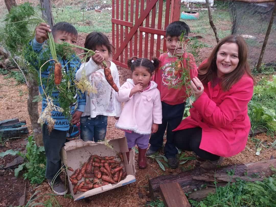 Niños y zanahorias