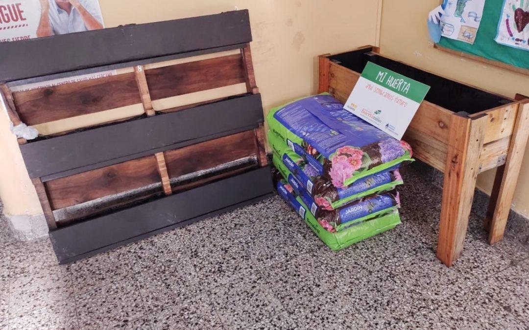 ¡La escuela N°10 de Martínez ya tiene su huerta!