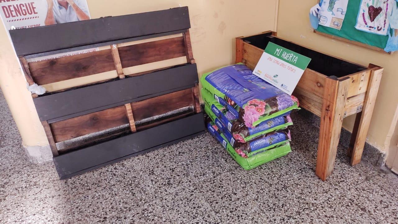 Huerta Escuela 10 de Martinez